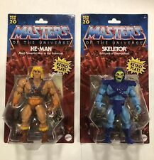 Masters Of The Universe He-man And Skeletor Retro Play 2020 Hasbro