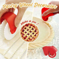 Pastry Lattice Cutter Decoration Plastic Wheel Roller For pizza, pie,ravioli