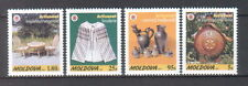 Moldova 1999 Handicraft Traditional Crafts and Costumes 4 MNH stamps