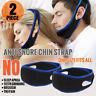 2 x Stop Snoring Chin Strap Anti Snore Sleep Apnea Belt Device Solutions Jaw USA