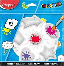 Helix Maped COLOR PEPS Plastic Paint Palette Easy Clean Kids Childrens Fun