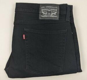 Levis Men's Black Denim Jeans - Size W36 L30
