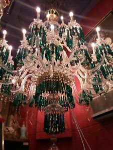 Chandeliers Style Ceiling Light - Baccarat Crystal.