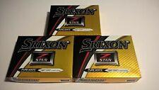 NEW SRIXON Z STAR GOLF BALLS 3/DOZEN