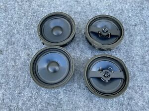 FRONT REAR DOOR SPEAKER SPEAKERS SET MITSUBISHI EVOLUTION EVO (2008-2015) OEM