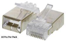 Commscope 5-569552-3 Cat5 8C Way Straight UTP RJ45 Connector, Plug - New In Box