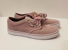 *NEW* VANS Atwood Low Leather, All Weather, Purple, Women's Size 8 (500714)