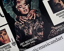 ENNIO MORRICONE MASTERPIECE VINYL LP JOEY HEATHERTON UNCENSORED COVER NM RARE