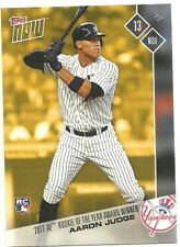 2017 TOPPS NOW AARON JUDGE 2017 AL ROOKIE OF THE YEAR AWARD WINNER OSB-1