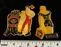 Little League Baseball Pin(s):(2): Lil' Abner & Daisy Mae - White Set IN D7