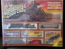 Vtg Tyco HO Scale Train Set Chattanooga Choo Choo 𝙉𝙀𝙒 𝙨𝙩𝙞𝙡𝙡 𝙎𝙀𝘼𝙇𝙀𝘿
