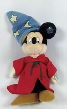 "Applause Disney Mickey Mouse Plush Fantasia Sorcerer Wizard 17"" WITH TAG"