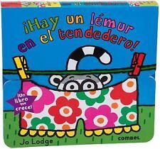 ¡Hay un lémur en el tendedero! (Libros que crecen) (Spanish Edition)-ExLibrary