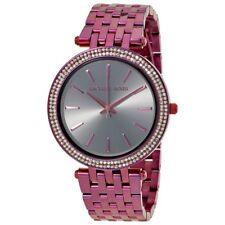 Women's Watch Michael Kors MK3554 Darci Dress Watches Quartz Purple (Plum) Tone