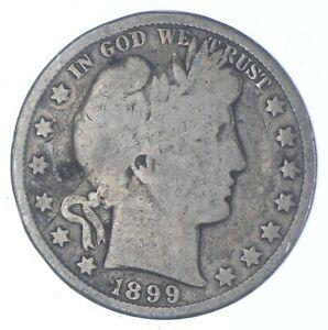 Better 1899 - US Barber 90% Silver Half Dollar Coin Collection Set Break *538