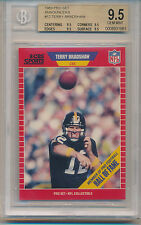 1989 Pro Set Football Announcers Terry Bradshaw (HOF) (12) (All 9.5 subs) BGS9.5