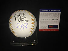 Alex Gordon Signed Official Gold Glove Baseball Kansas City Royals WS PSA/DNA