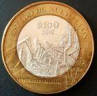 2007 MEXICO 100 PESOS SILVER BIMETALLIC Serie 2 ESTADO DE NUEVO  LEON Nice!!!