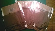 3 x  grey Nicole Fully Fanshioned Stockings crossdresser
