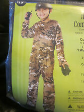 Army Commando Halloween Costume- Size 6 Costume-Military Costume