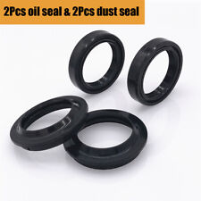 1 Set Front Fork Shock Absorber 2x Oil Seal and 2x Dust Seal 41 x 54.05/54.3x 11