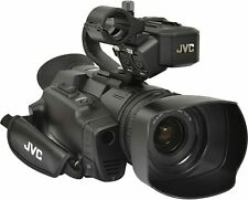 JVC - GY-HM250U - UHD 4K Streaming Camcorder with Built-in Lower-Thirds Graphics