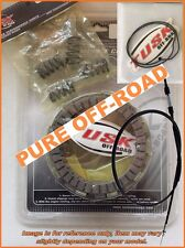 Tusk Clutch Kit, Springs, Cover Gasket, Cable for Honda CR250R 1998-2003, CR250
