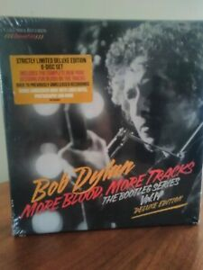 "COFFRET BOB DYLAN ""More Blood, More Tracks"" - 6 DISC SET"