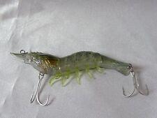 """Koppers Live Target Hybrid Shrimp 3.5"""" Grass Shrimp 3/8 oz Hard Body Soft Legs"""