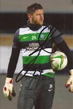 Celtic * Lukasz zaluska firmata 6x4 FOTO D'AZIONE + COA