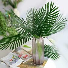 36pcs Artificial Palm Tree Faux Leaves Green Plants Greenery for Wedding Decor
