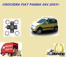 CROCIERA ALBERO TRASMISSIONE FIAT PANDA 169 4X4  DAL 2003 MISURA 64X24 mm
