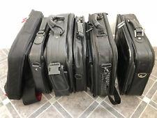 7 x Laptop Bags Black Leather Canvas Shoulder Carry Briefcase Various Sizes Zip