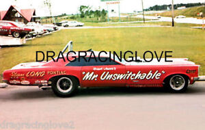 """Mr.Unswitchable"" Dick Jesse 1967 Pontiac GTO NITRO Funny Car PHOTO!"
