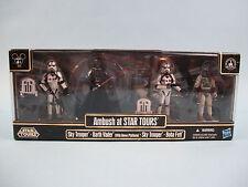 Star Wars Ambush at Star Tours Vader, Trooper, Boba Fett Figure Pack Disney 2010