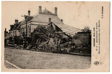 CPA 02 - SOISSONS (Aisne) - 3. Maison bombardée rue Racine - Guerre 1914-1916
