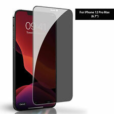 1-3X Privacy Tempered Glass For iPhone 12Pro/Max/mini Anti Spy Screen Protector
