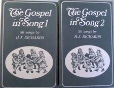 The Gospel in Song by H.J. Richards  Vol 1&2  Cassette