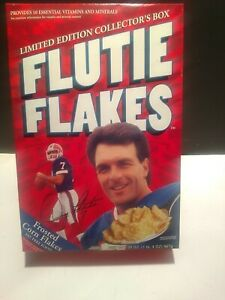 Flutie Flakes - New & Unopened Limited Edition Collector's Cereal Box (Red)