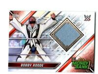 WWE Bobby Roode 2019 Topps Raw Event Used Money In The Bank Mat Relic Card
