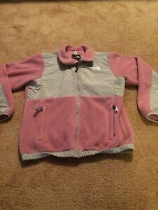 Girls Large The North Face Polar-tec Denali Jacket