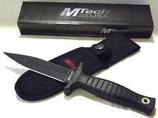 MTech Boot Belt Knife Dagger Sheath Boot Clip Belt Loop Concealed Self Defense