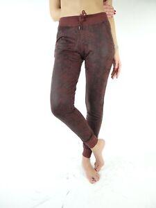 Jeans Met donna Pantatuta Felpa stretch stampa pitone mod.NORA