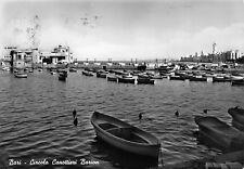 3339) BARI, CIRCOLO CANOTTIERI BARION. VEDUTA DAL MARE, BARCHE. VIAGGIATA.