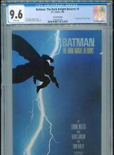 1986 DC BATMAN: THE DARK KNIGHT RETURNS #1 2ND PRINTING FRANK MILLER CGC 9.6