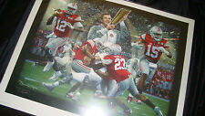 "Ohio State Print by D.Moore: ""Champions of a New Era"": First Ever Playoff Champs"