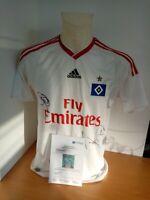 Hamburger SV Trikot 2009/2010 Signiert HSV Autogramm Bundesliga Fußball Gr. 176