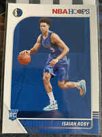 2019-20 NBA Hoops ISAIAH ROBY Rookie Card RC Mavericks Thunder 234📈🔥