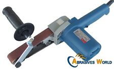 Variable Speed Electric Power 533X30 Belt Sander, Grinder, Polisher for Metals!