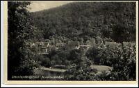 Stecklenberg Harz alte AK 1941 gelaufen Wurmtal mit Bad Gesamtansicht Panorama